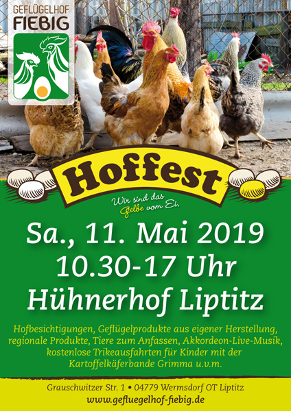 Hoffest 2019 am 11. Mai 2019 in Liptitz